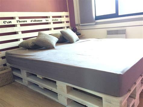 canapé en palette plan diy fabriquer un lit en palette de bois cuboak