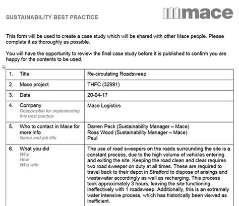 best practices template 187 sustainability best practice template best practice hub