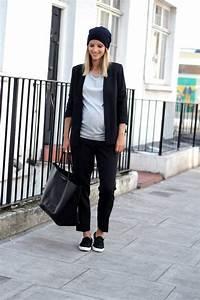 mode hiver pour femme enceinte 32 idees de tenues With robe de cocktail combiné avec bonnet gris clair femme
