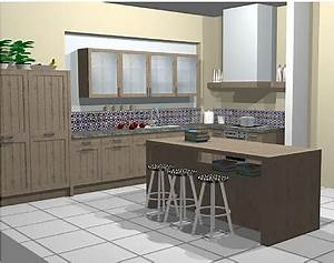Echtholz Arbeitsplatte Küche : musterk chen b rse musterk chen mit k cheninsel ~ Michelbontemps.com Haus und Dekorationen