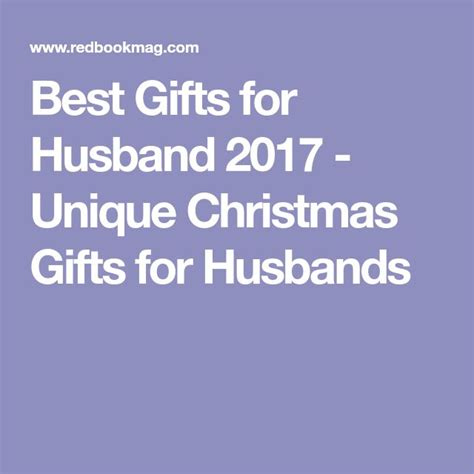 25 unique gifts for husband ideas on pinterest birthday