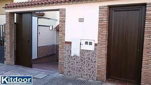Garagentor Klemmt Seitlich : puerta seccional lateral kitdoor con automatismo nice ~ A.2002-acura-tl-radio.info Haus und Dekorationen
