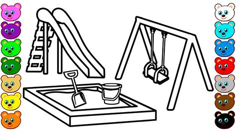 playground coloring pages for