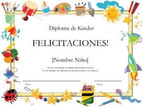 Free Kindergarten Diploma Certificates Templates