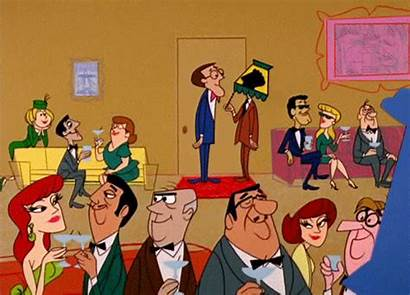 Cocktail Animated 1960s Cartoon Gifs Activate Retro