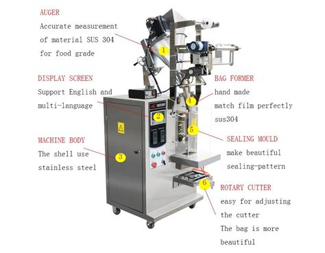 vertical form fill seal machine packaging machinery mingke