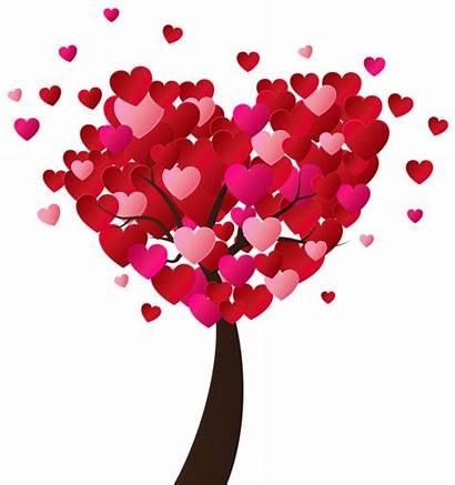 Valentines Clip Heart Hearts Tree Valentine Clipart