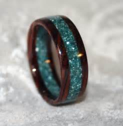 wood wedding rings custom wooden or corian wedding band or ring