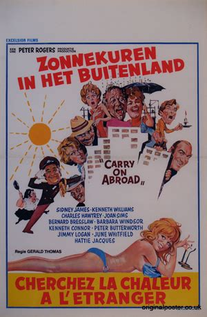 Carry On Abroad, Original Vintage Film Poster| Original ...