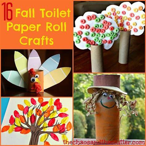 16 fall toilet paper roll crafts fall crafts for 611   e7a0d8a9a811a2fda75e2ca6090515b8