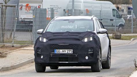 2019 Kia Sportagespy by 2019 Kia Sportage Facelift Spotted With New Headlights