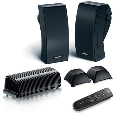bose 251 black outdoor expansion wireless package for
