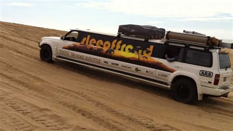 Slee Offroad by Slee Off Road Limo On The Pismo Beach Dunes 1 Youtube