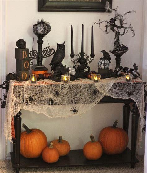 spooky halloween table decoration ideas   home
