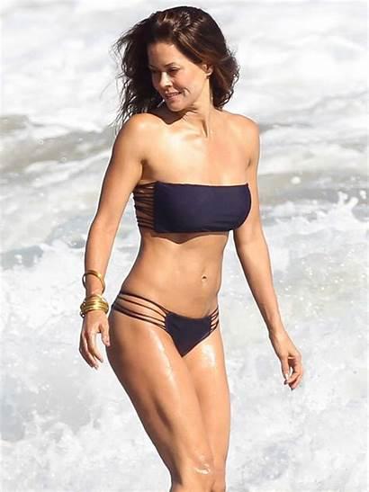 Brooke Burke Bikini Beach Bellman Gina Volleyball