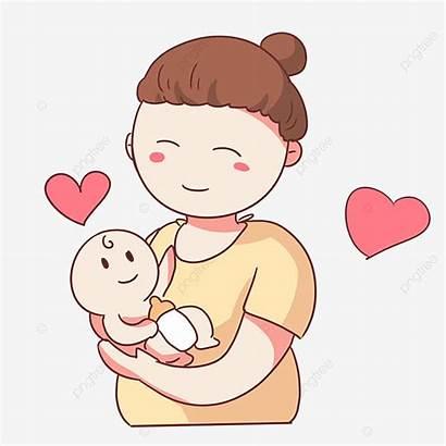 Mom Holding Mother Clipart Psd Transparent Copyright