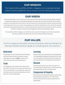 Mission, Vision, Core Values New Orleans Car Accident Lawyer