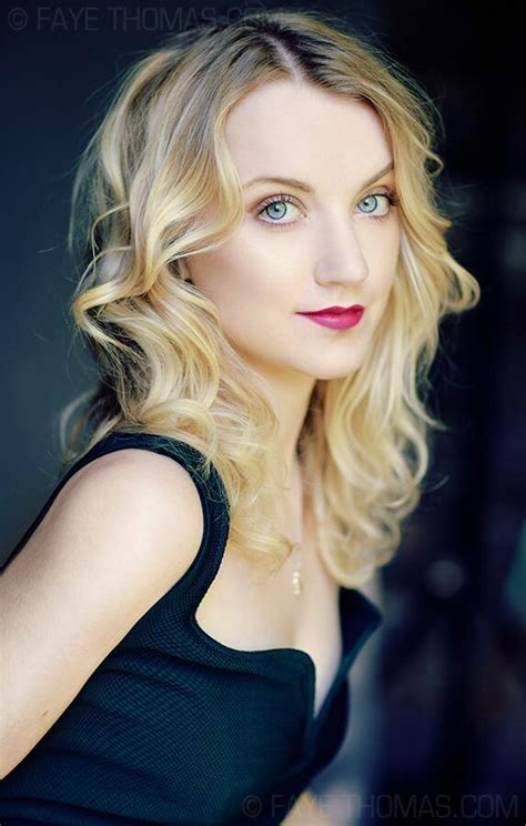 Celebrity Hairstyles: Evanna Lynch Glamour Hairstyles 2015