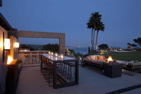 clifftop house  pacific palisades los angeles
