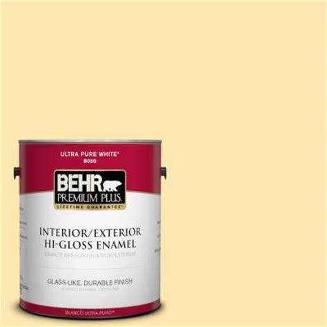 behr premium plus 1 gal p290 2 sweet as honey hi gloss