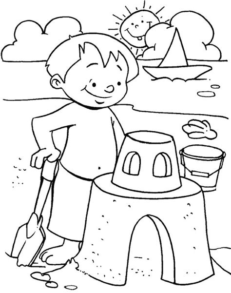 fun  sand coloring page   fun  sand coloring page  kids  coloring