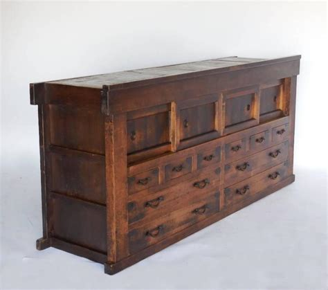 cabinet doors and drawers for sale 19th century japanese cabinet with drawers and sliding