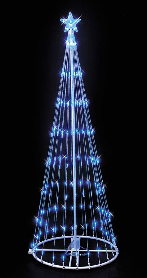 led light show trees trees trees and outdoor