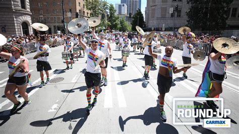 monday   seahawks walk  seattle pride parade
