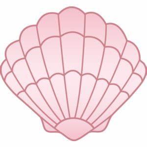 Pink Seashell Free Clip Art - Polyvore