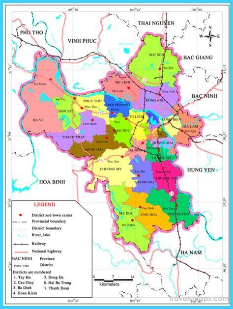 map  hanoi travelsmapscom