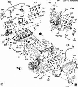 Chevy Cruze Enginepartment Diagram