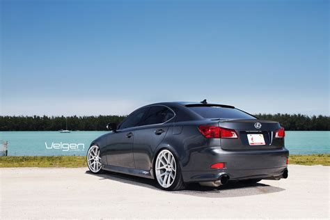 is250 rims lexus is250 velgen wheels vmb5 matte silver