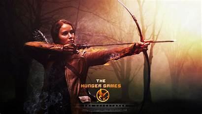 Hunger Games Lawrence Jennifer Arrow Bow Achtergronden
