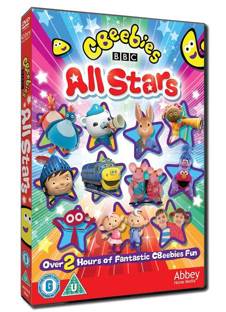 cbeebies all stars dvd giveaway cracked nails split ends