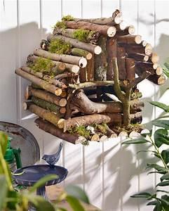 Basteln Mit ästen Und Zweigen : vogelhaus ~ Whattoseeinmadrid.com Haus und Dekorationen