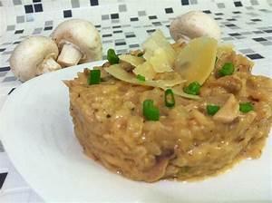 Risotto Vin Blanc : risotto la cr me de champignons poulet et vin blanc ~ Farleysfitness.com Idées de Décoration