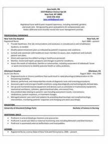Pacu Rn Description For Resume by Pacu Resume Template Professional Resume Outline