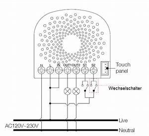 Touch Dimmer Schaltplan