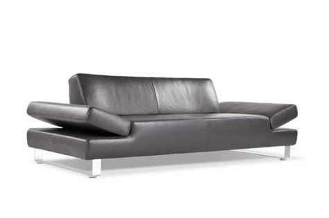 design canapé canapé 2 places design profond longrun en cuir
