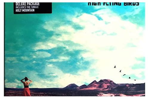 high flying birds album download