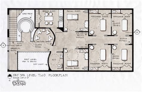 design plans spa design concept fifth avenue york city home