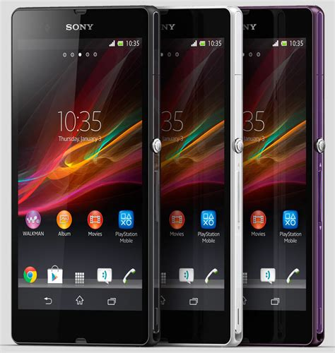 Sony Xperia Range Review by Sony Xperia Z Review