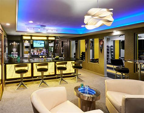 man cave finished basement designs youll totally envy