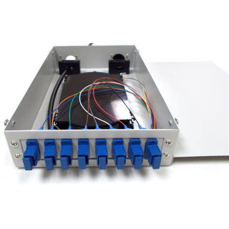 Box Fiber Ornamen fiber optic termination box फ इबर ऑप ट क टर म न शन ब क स
