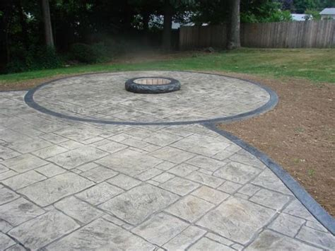 concrete pits for sale sted concrete gray black sted concrete patio with fire pit the horseman place