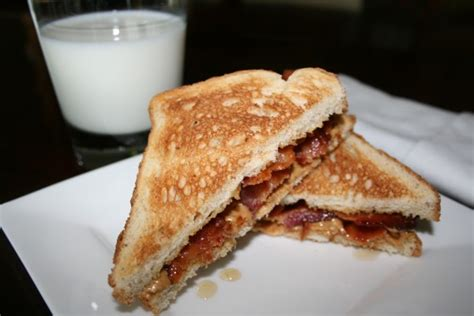 Apple Bacon And Peanut Butter Sandwiches by Peanut Butter Bacon Sandwich Breakfast Recipes