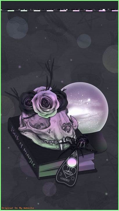 Witchy Iphone Goth Halloween Wallpapers Laptop Backgrounds