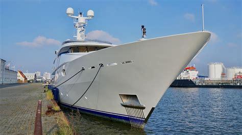Yacht Zenobia by 4k Yacht Zenobia Port Bremerhaven Abeking Rasmussen