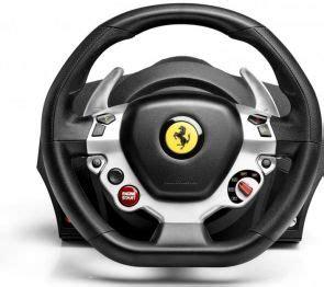 Thrustmaster tx racing wheel ferrari 458 italia edition. ThrustMaster TX Racing Ferrari 458 Italia Edition - Stuur en pedalen-set - met bekabeling - voor ...