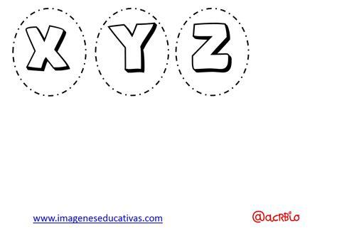 Abecedario para colorear y numeros (4) Imagenes Educativas
